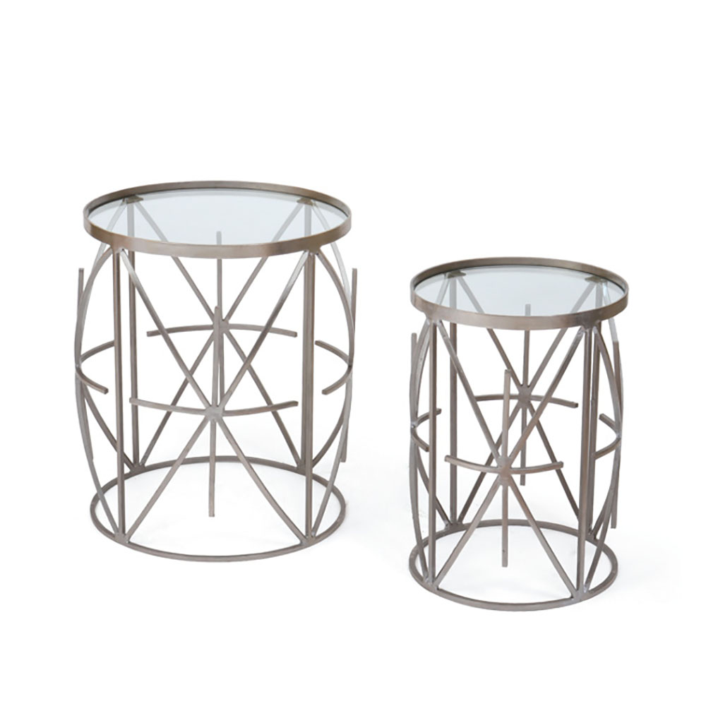 Carson Side Table - Ruth Fischl Event Rental