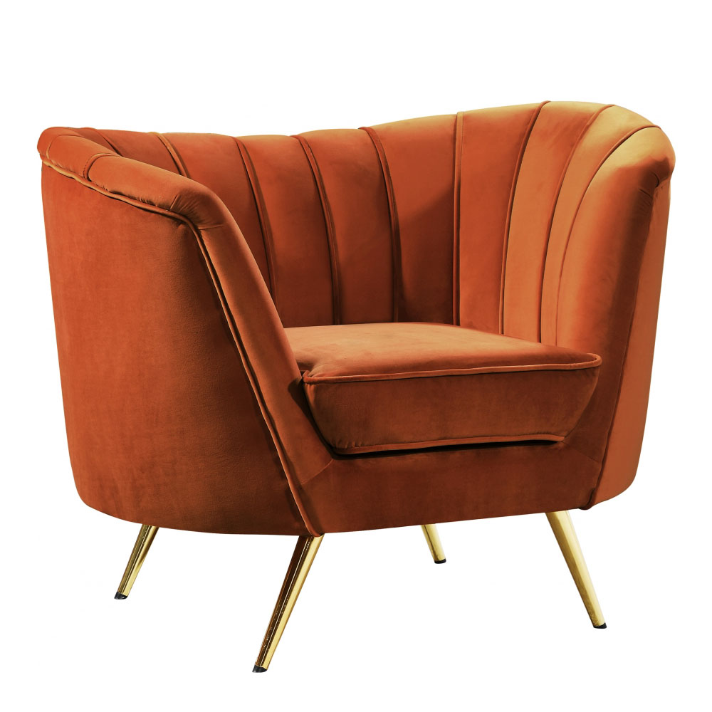 Magnificent Arbow Accent Chair Cognac Velvet Ruth Fischl Event Rental Ibusinesslaw Wood Chair Design Ideas Ibusinesslaworg